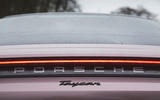 6 Porsche Taycan RWD 2021 UK first drive review rear lights