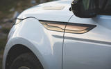 Range Rover Evoque 2019 first drive review - front quarter