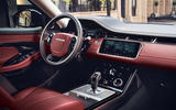 Range Rover Evoque 2019 official reveal - interior
