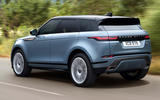Range Rover Evoque 2019 official reveal - onroad rear