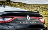 6 Renault Arkana 2021 UK FD rear end