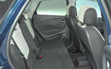 Renault Captur Iconic TCe 90 2018 UK first drive - rear seats
