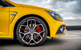Renault Megane RS 300 Trophy 2019 UK first drive review - alloy wheels
