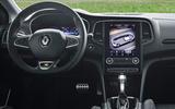 Renault Megane Sport Tourer E-Tech PHEV 2020 first drive review - steering wheel
