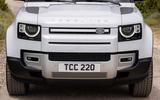 6 Rover Defender PHEV 2021 UK FD headlights