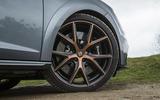 Seat Leon Cupra R 2018 UK review front wheels