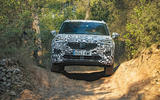 Seat Tarraco Prototype first drive 2018 offroad front