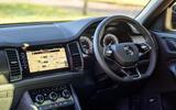 6 Skoda Kodiaq Sportline 2021 UK first drive cabin