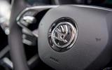 Skoda Octavia IV 2020 first drive review - steering wheel