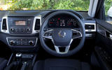 Ssangyong Musso EX 2019 UK first drive review - dashboard