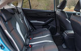 Subaru XV e-Boxer 2020 UK first drive review - rear seats