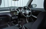Suzuki Swift Attitude 2019 UK first drive review - cabin