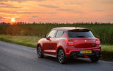 Suzuki Swift Sport hybrid 2020 UK first drive review - static rear