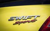 Suzuki Swift Sport 2018 long-term review boot badge