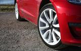 Tesla Model 3 2018 review alloy wheels