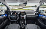 Toyota Aygo 2018 review cabin