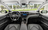 Toyota Camry 2019 European first drive review - cabin