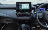 Toyota Corolla hatchback 1.8 hybrid 2019 UK review - infotainment