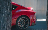 Toyota GR Supra 2019 first drive review - rear end