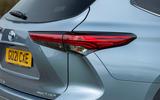 6 Toyota Highlander 2021 UK first drive review rear lights