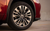 Toyota Highlander Hybrid 2020 first drive review - alloy wheels