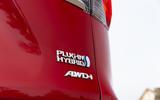 6 Toyota RAV4 PHEV 2021 UK first drive review rear badge