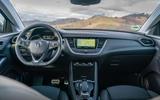 Vauxhall Grandland X Hybrid4 2020 first drive review - dashboard