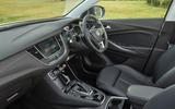 Vauxhall Grandland X Hybrid4 2020 UK first drive review - cabin