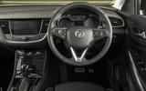 Vauxhall Grandland X Ultimate 2018 UK review interior