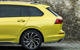 Volkswagen Golf Estate 2020 first drive review - three quarters