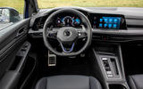 Volkswagen Golf R 2020 first drive review - dashboard