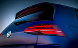 Volkswagen Golf R Performance Pack 2018 review rear lights