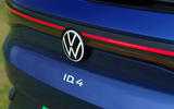 6 Volkswagen ID 4 2021 UK first drive review rear badge
