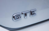 Volkswagen Passat GTE Estate 2019 first drive review - rear badge