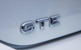 Volkswagen Passat GTE Estate 2019 first drive review - rear badge