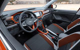 Volkswagen T-Cross 2019 first drive review - steering wheel