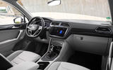 Volkswagen Tiguan eHybrid 2020 first drive review - dashboard