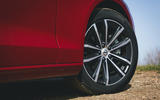 6 Volvo V60 B3 Momentum 2021 UK first drive review alloy wheels