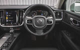 Volvo V60 Cross Country 2019 UK first drive review - dashboard