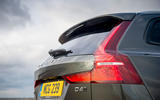 Volvo V60 Cross Country 2019 UK first drive review - rear lights