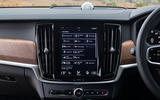 Volvo V90 R-Design Pro 2018 UK first drive review - infotainment