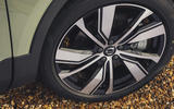 6 Volvo XC40 Recharge P8 2021 UK first drive review alloy wheels