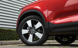 Volvo XC40 T3 2018 first drive review alloy wheels