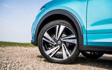 Volkswagen T-Cross R-Line 2020 UK first drive review - alloy wheels