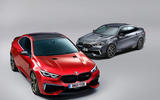 BMW M2s render 2020 - stationary fronts