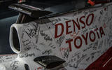 Waking the Toyota GT-One - historic Toyotas single seater signed