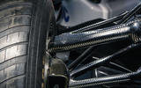 Waking the Toyota GT-One - historic Toyotas single seater suspension