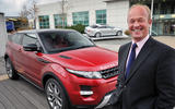 JLR's UK managing director, Jeremy Hicks