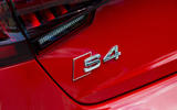 Audi S4 badging