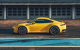 2019 Porsche 911 Carrera S track drive - static side
